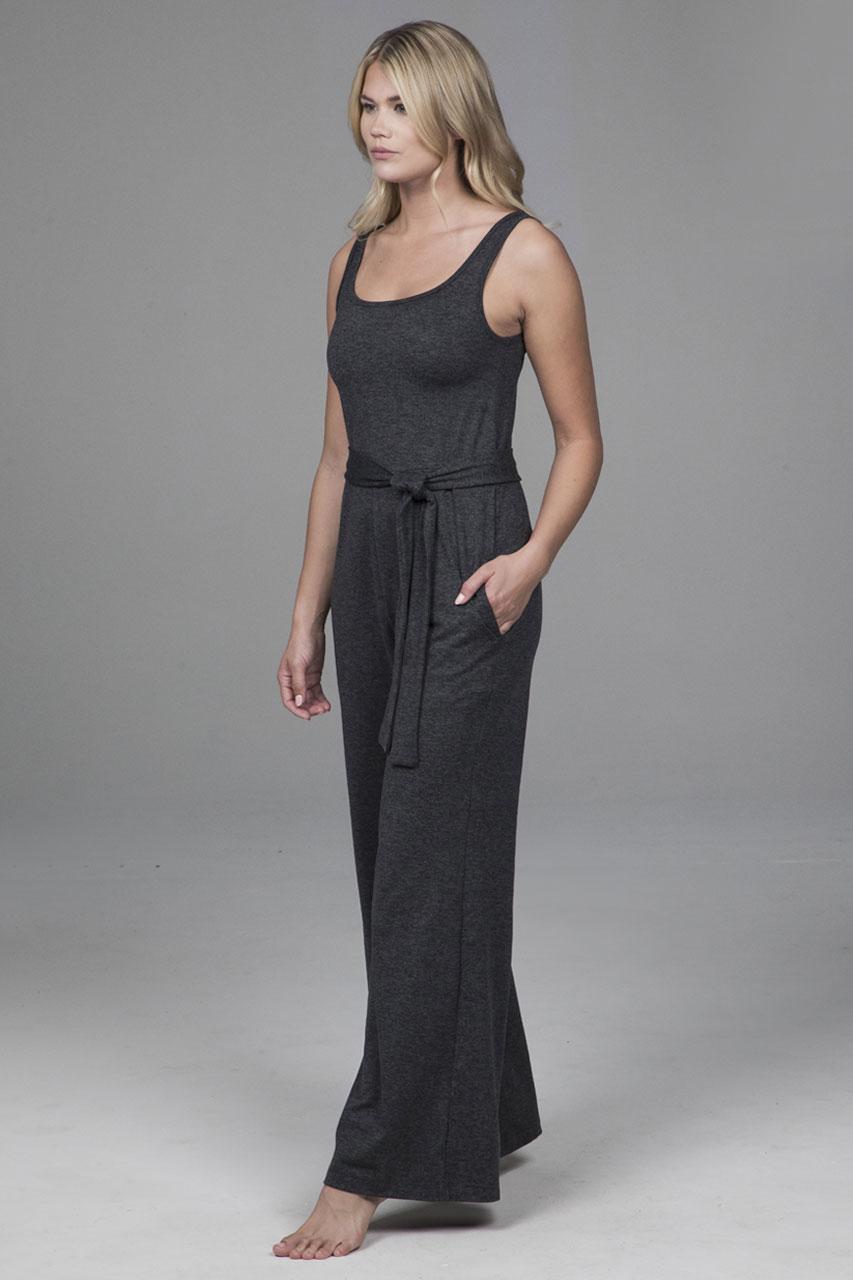 Charcoal Heather Jumpsuit
