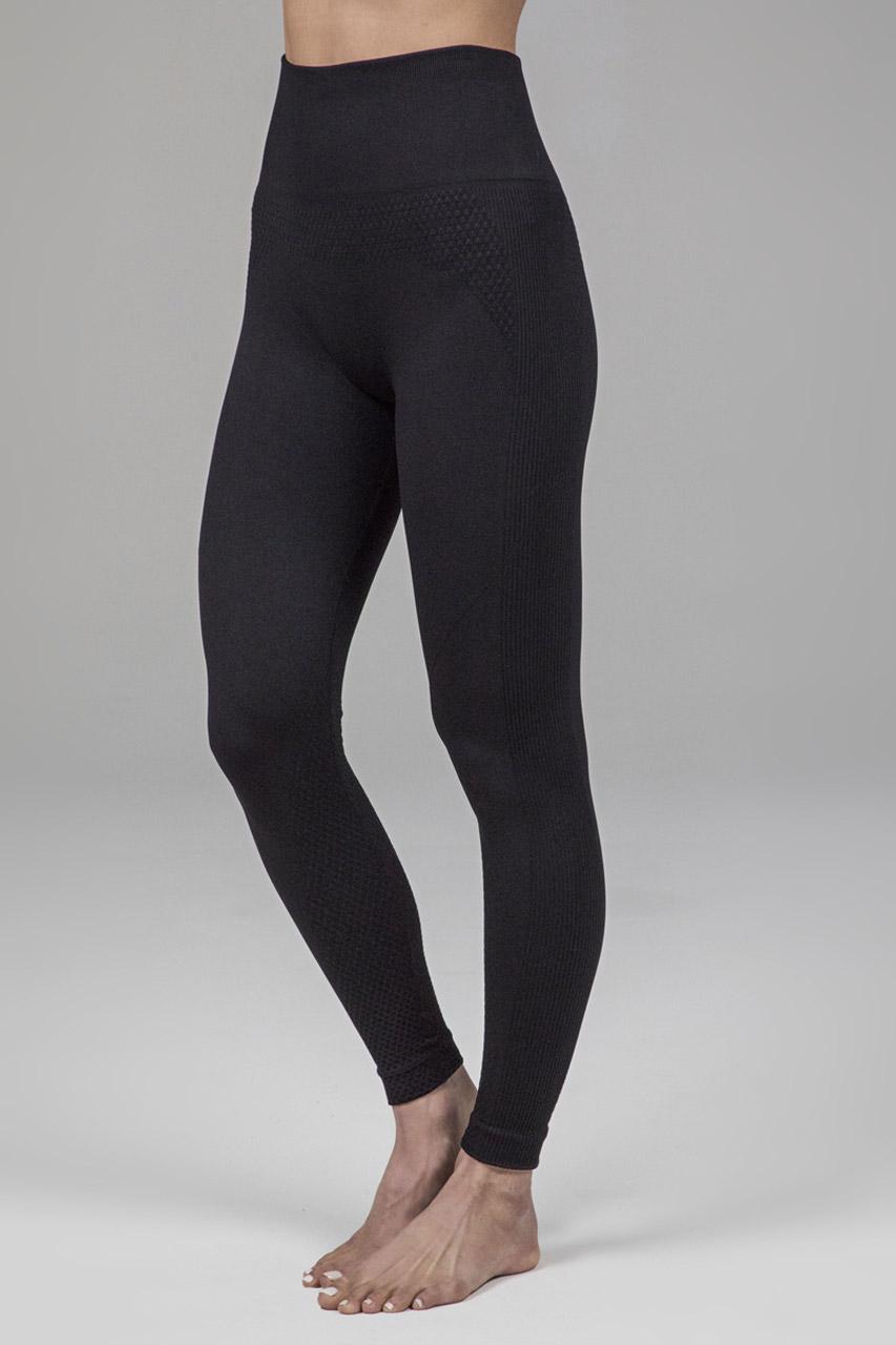 Seamless Black Legging