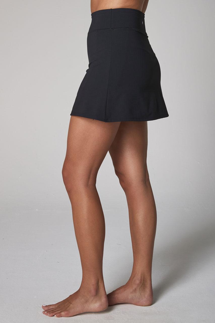 perfect skort side black