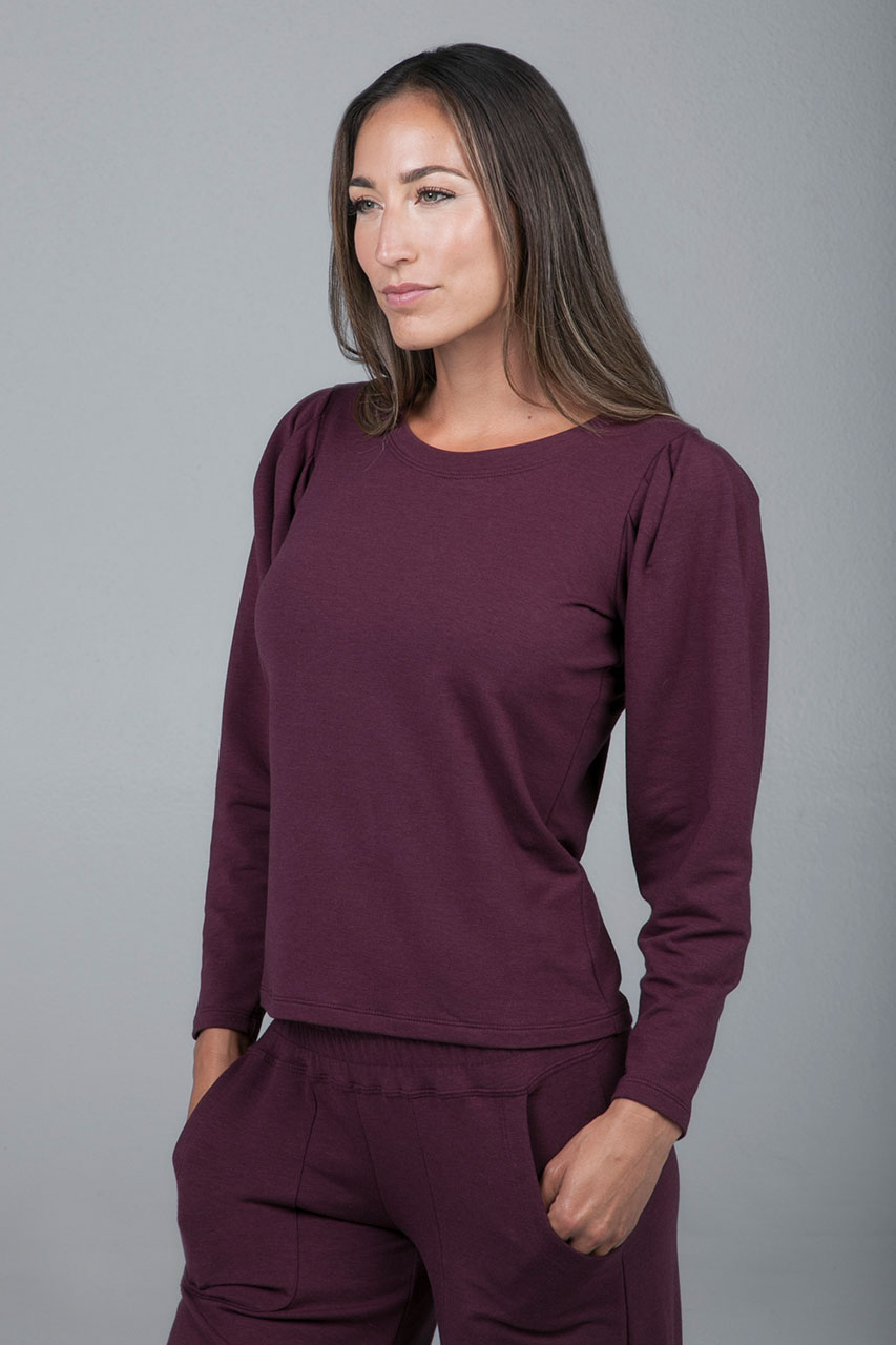 Plumberry Pullover Sweater