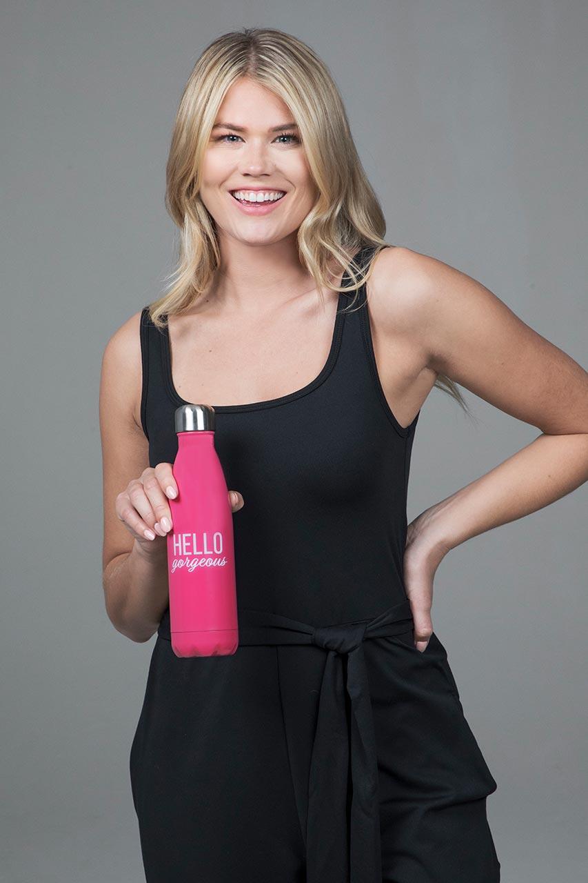 Water Bottle - Hello Gorgeous