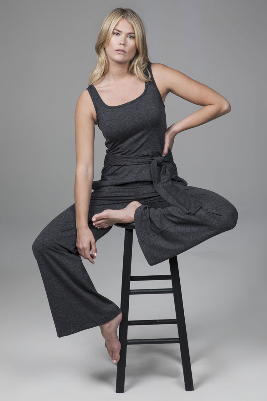 Jumpsuit Charcoal Heather
