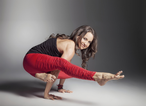 The Red Warrior Ruched Legging, Featuring Tiffany Cruikshank